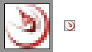 Figure 7: Dynamic Drive favicon results enlarged and actual size
